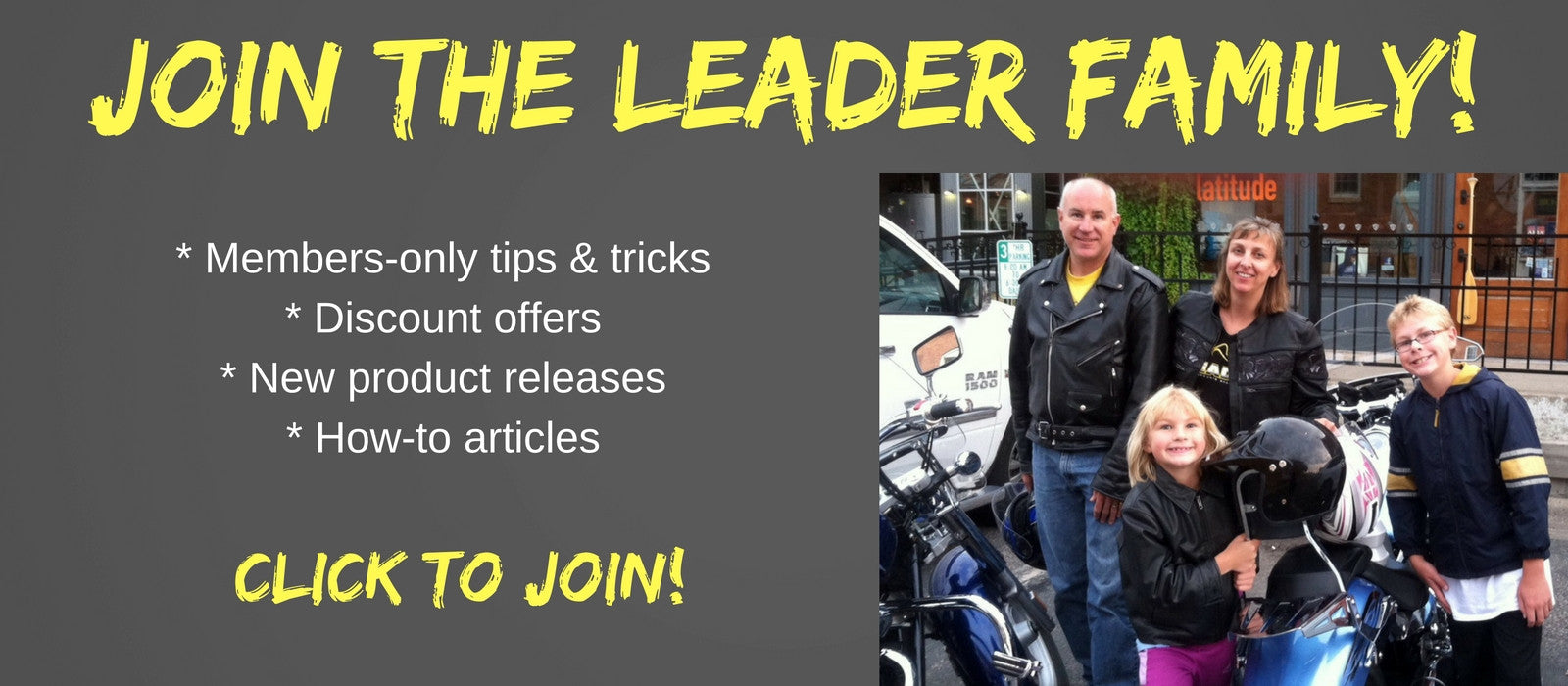 Join the Leader Family