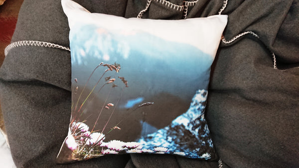 Wild Flower Summit Printed Linen Cushions
