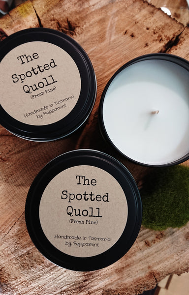 The Spotted Quoll Tin Candles