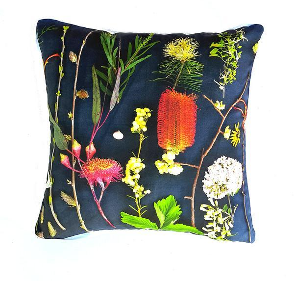 Botanicals - Bottle Brush Cushion