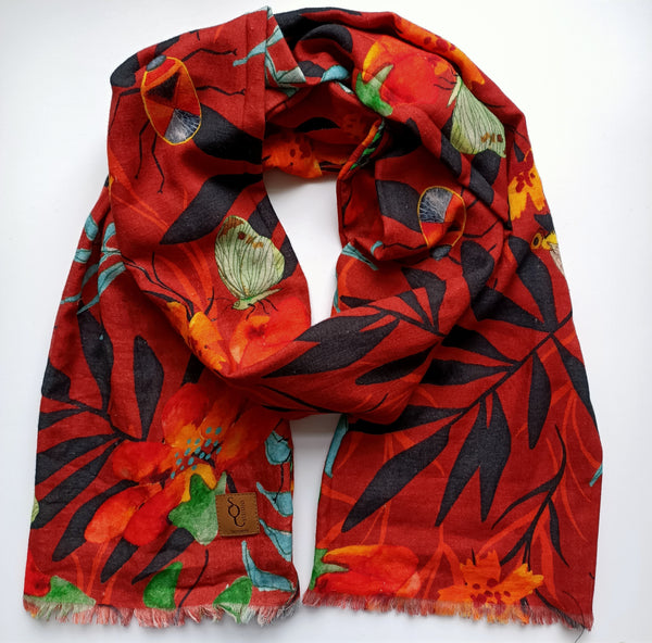 Nature Underfoot Organic Cotton Scarf