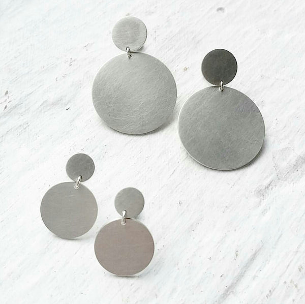 Mother Round Earring