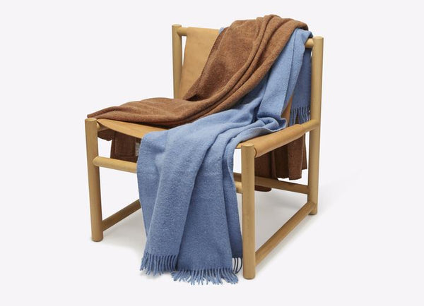 Seljak Ochre Recycled Wool Throw