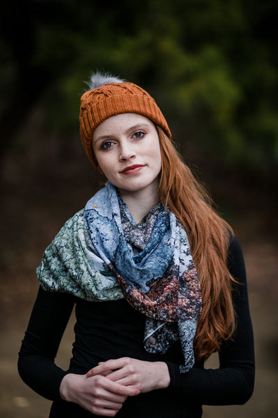 Lichen Fashion Scarf