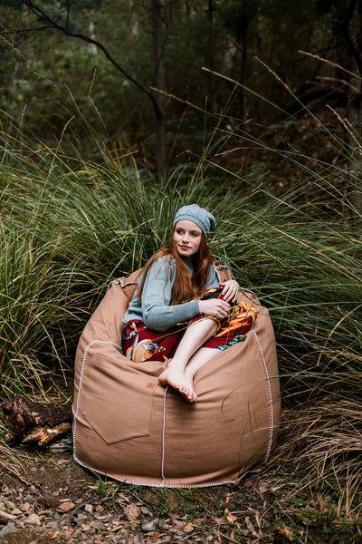 Organic Wool Felt Bean Bag