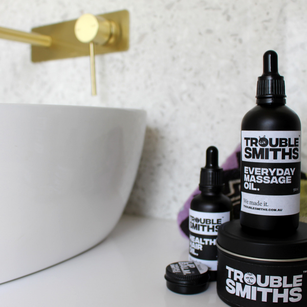 Healthy Hair Oil by Trouble Smiths