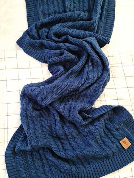 Chunky Organic Cotton Scarves
