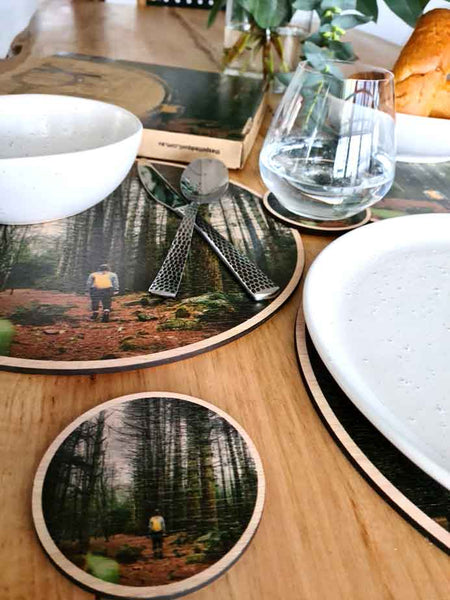 Placemat and Coaster Sets - Hamish Lockett