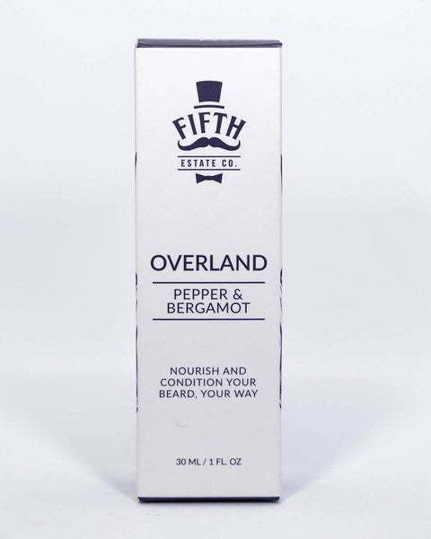 Beard Oil - Pepper & Bergamot (Overland)