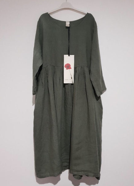 Montaigne Italian Linen Dress