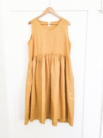 Montaigne Baggy V Neck Style Pinafore