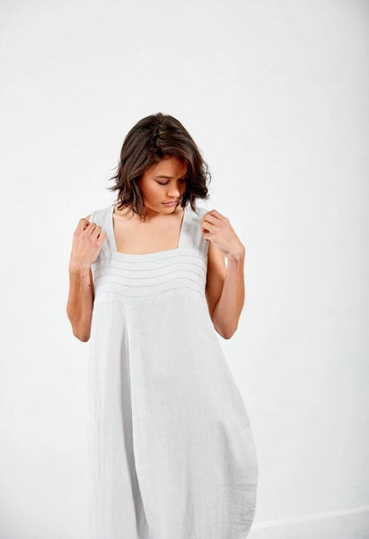 Detailed Montaigne Linen Dress
