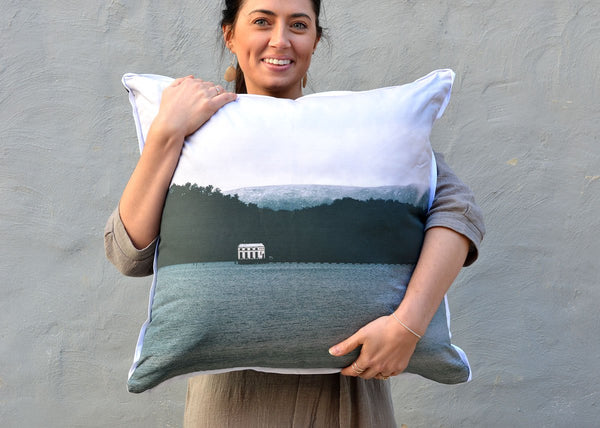 Pumphouse Point Tasmania Cushion