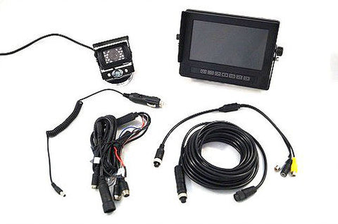 Vision Works 7 in. Weatherproof Monitor & Camera System