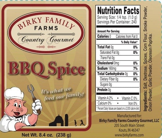 Country Gourmet - BBQ Spice