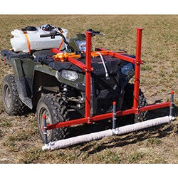 5' Weed Wiper ATV and Front Bucket Mount - WWTCATV5
