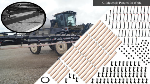 90' Weed Wiper Self-Propelled Sponge Kit - WWTCKT90-SP