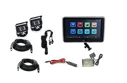 "Vision Works 10"" Touch Screen w/ 2 Wired Cameras & Quad Processor - VW1CT10-Q2"