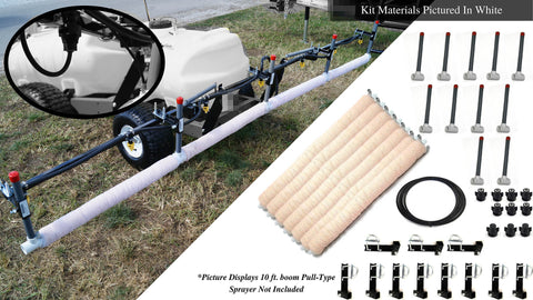 15' Weed Wiper Self-Propelled Sponge Kit - WWTCKT15-SP