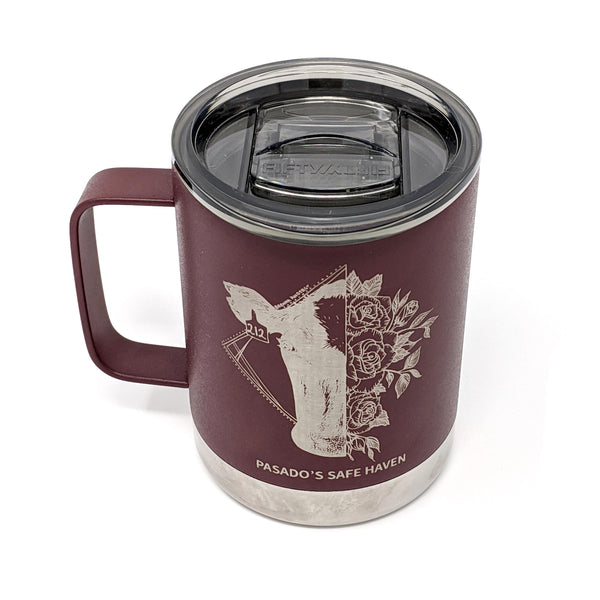 12oz Belle Cow Camp Mug