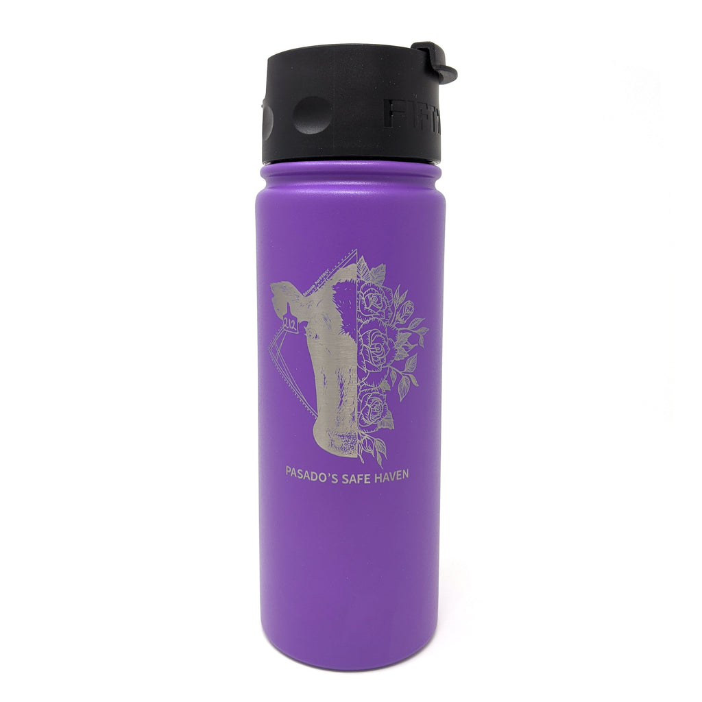 18oz Belle Cow Water Bottle