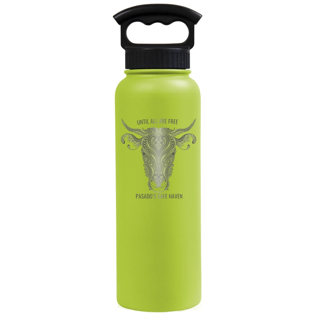 "34 oz. Water Bottle (Wide Mouth)-""Until All Are Free"""