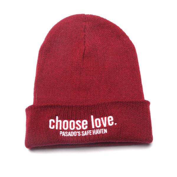 Choose Love Fitted Beanie