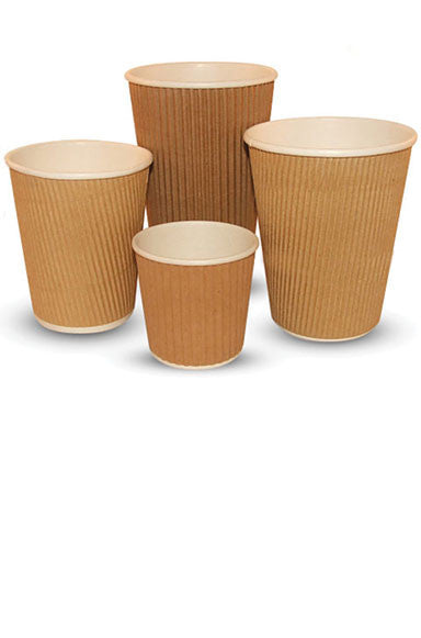 Rippled Paper Cups