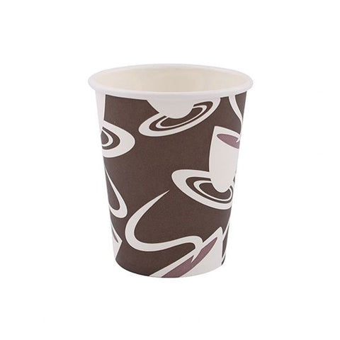8 Oz. Printed Paper Hot Cup/Case of 1000
