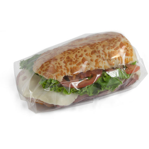 10 x 10 Clear Cellophane Food Wrap Sheet/Case of 4000