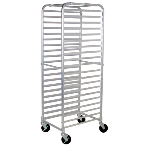 "20-Tier Pan Rack W/ 4 X Casters ( 2X Locking, 2 Regular) 20 1/4"" X 26"" X 69 1/4"", K/D, Nsf/Case of 1"