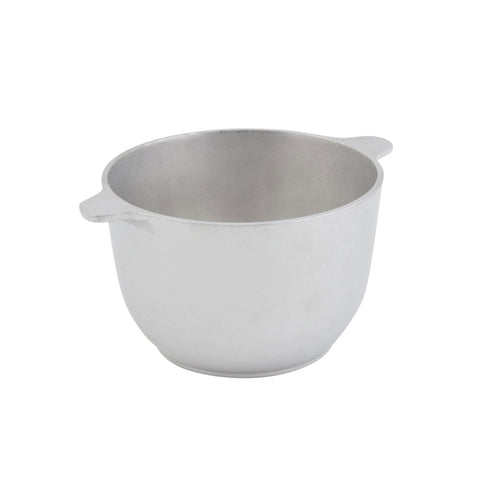 1 1/2 qt 6 3/4 dia. x 4 1/2 H inch Soup Tureen Pewter Glo