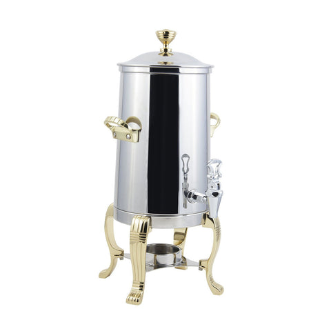 2 gal Aurora Single Wall Non Insulated Urn with Contemporary Handle