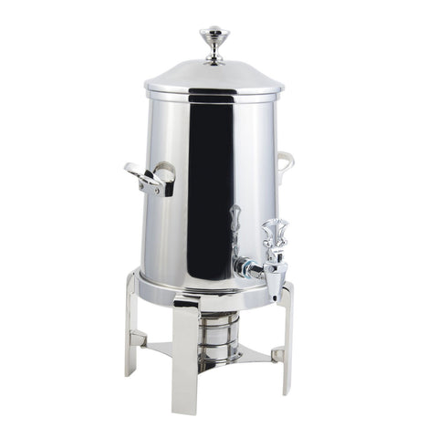 2 gal Contemporary Non Insulated Coffee Urn with Chrome Trim with ConT Handle
