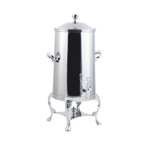 1 1/2 gal Renaissance Insulated Coffee Urn with Chrome Trim