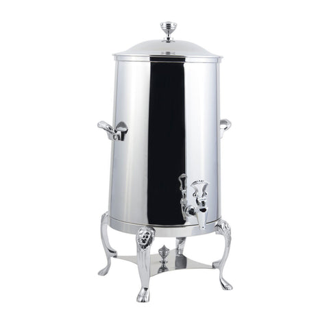 1 1/2 gal Lion Insulated Coffee Urn with Chrome Trim