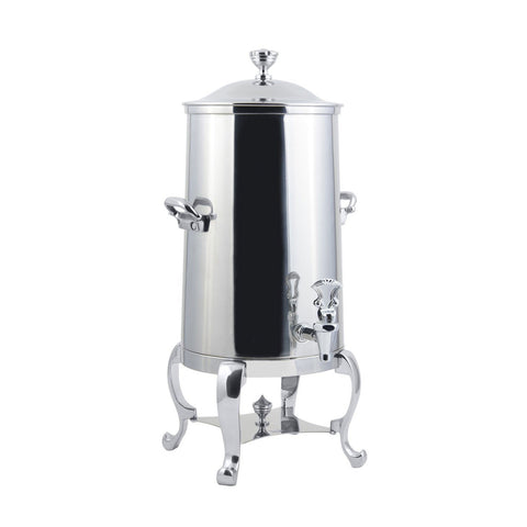 1 1/2 gal Roman Insulated Coffee Urn with Chrome Trim with ConT Handle