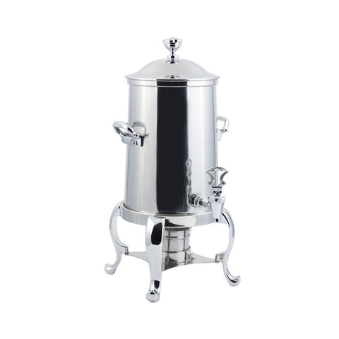 2 gal Roman Non Insulated Coffee Urn with Chrome Trim