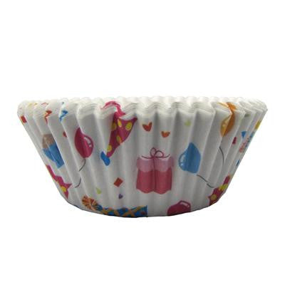1 1/2 x 3 x 2 Birthday Baking Cups/Case of 1728
