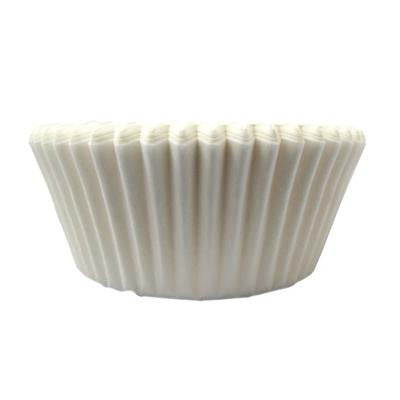 1 1/2 x 3 x 2 White Baking Cups/Case of 1728