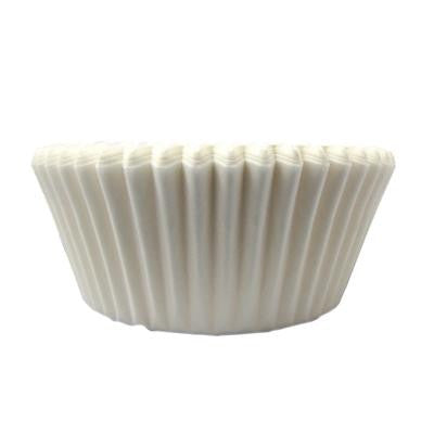 1 1/2 x 3 x 2 White Baking Cups/Case of 4800