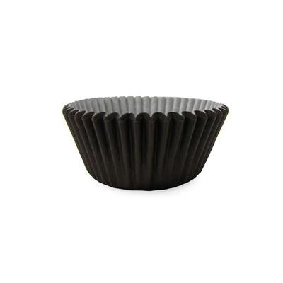 1 x 2 x 1 Mini Brown Baking Cups/Case of 1728