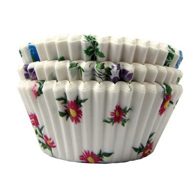 1 1/2 x 3 x 2 Floral Baking Cups/Case of 4800