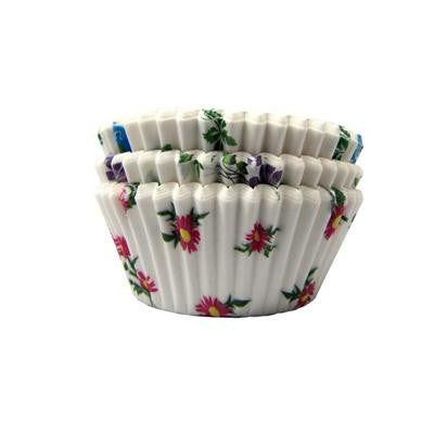 1 x 2 x 1 Mini Floral Baking Cups/Case of 1728