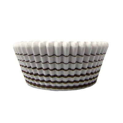 1 1/2 x 3 x 2 Brown Circle Baking Cups/Case of 1728
