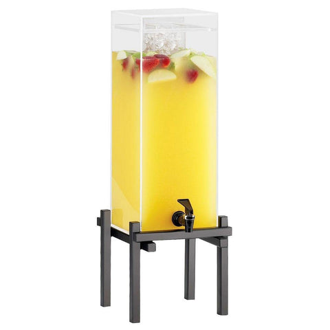 10.25W x 10.5D x 25.5H One by One Iced Beverage Dispenser Black 3 Gallon