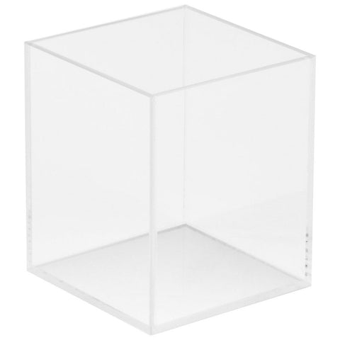 5W x 5D x 6H Clear 5 Sided Box