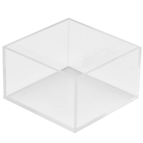 5W x 5D x 3H Clear 5 Sided Box