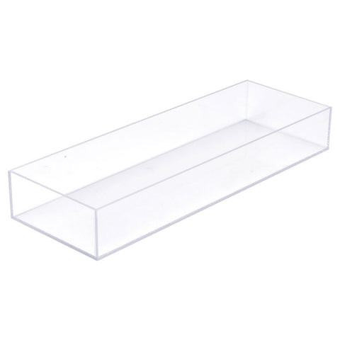 7W x 20D x 3H Clear 5 Sided Box