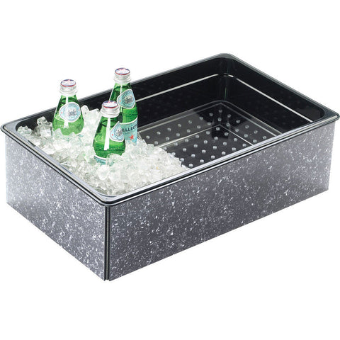 12W x 20D x 6H Fully Insulated Ice Housings Granite Gray